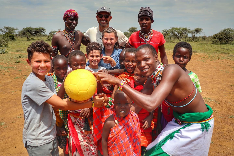 Family Travels to Kenya