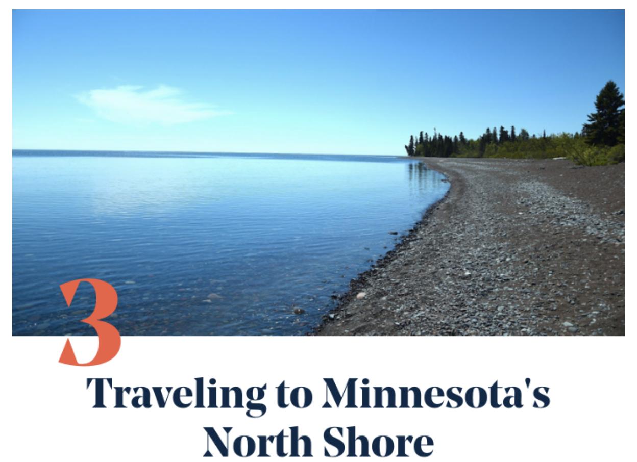 Minnesota North Shore Travel Guide