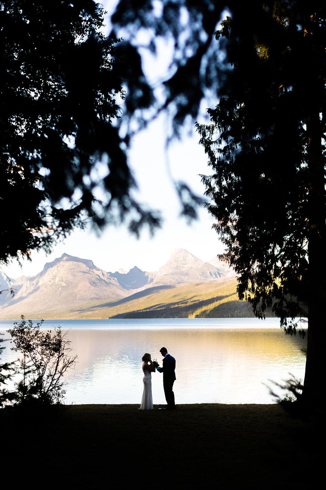 Ryan Meadow Wedding Glacier National Park
