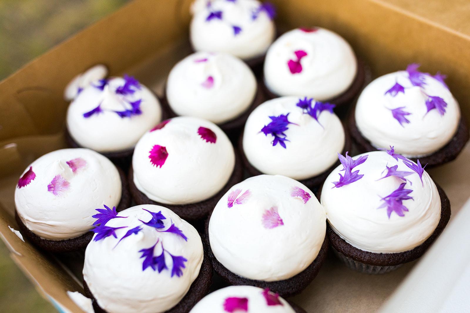 Fleur Bakeshop Wedding Cupcakes