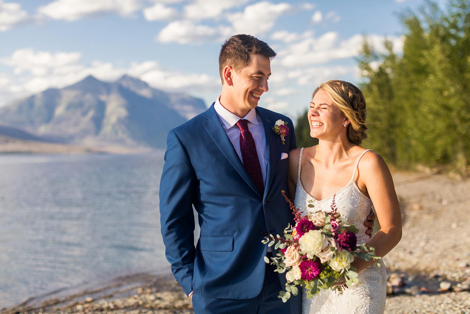 Lake McDonald Wedding
