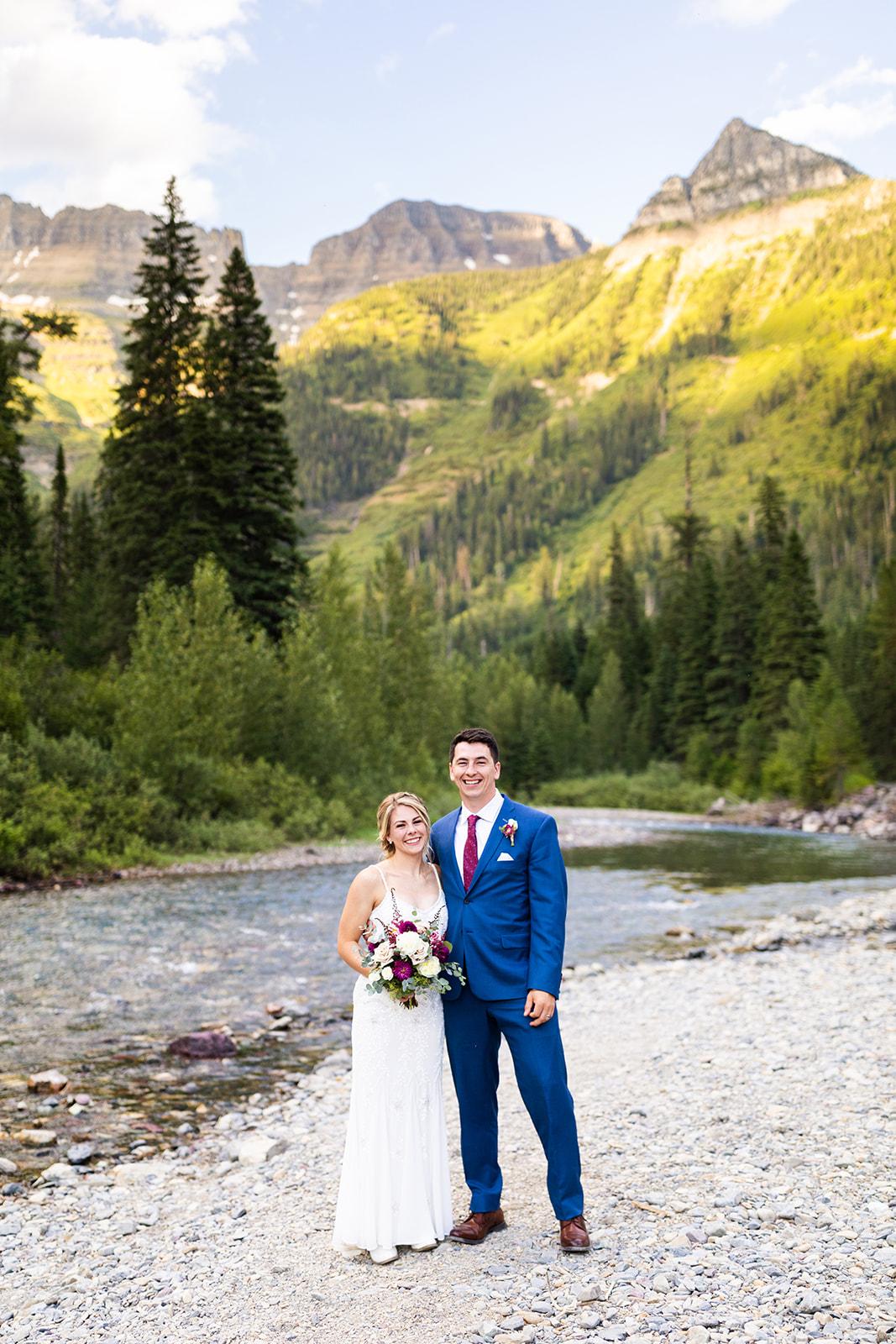 McDonald Creek Wedding Photos